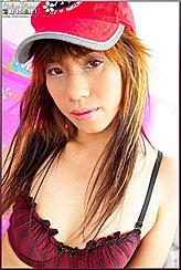 Thai Girls Long Aubrun Hair Pink Lips