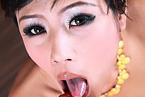 Hannah Lee Strips Yellow Dress And Plays With Vibrator