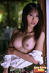 Topless At Window Long Hair