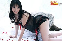 On All Fours In Lingerie
